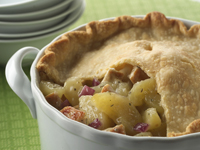 Savory Chicken & Apple Pot Pie