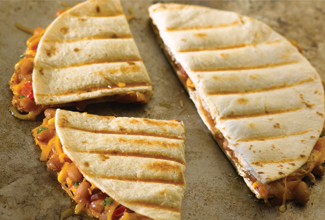 Baked Bean Quesadilla