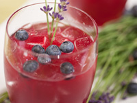 Blueberry Lavender Fizz