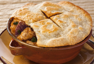 Chicken Tagine Pot Pie