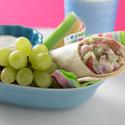 Chicken Salad Grape Wraps