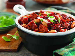Smoky Pork and White Bean Chili