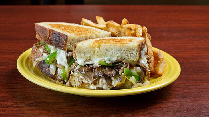 cleveland cheese steak sandwich