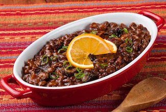 Florida Orange Molasses Baked Beans