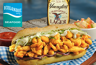 Yuengling® Lager Breaded Clam Strips