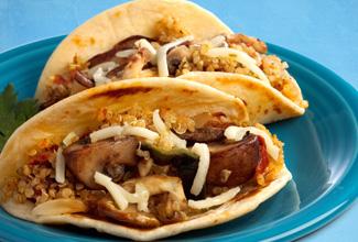Meatless Mushroom Street Tacos