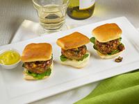 Mini Duck Burgers with Shiitake Mushroom Ketchup