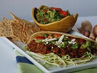 Mushroom Tacos with Salsa Verde