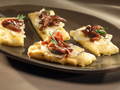 Rosemary Mashed Potato Flatbread with Wisconsin Dunbarton Blue