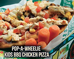Kid's Pop-A-Wheelie Pizza