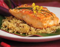 Sweet Chili Glazed Salmon