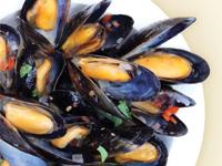 Sweet Thai Mussels