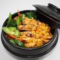 Sapphire Chicken-Veggie Rice Bowl