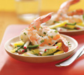 Marinated Shrimp with Mango & Radishes