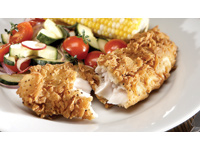 Southern Style Striped Pangasius with Pickled Garden Salad