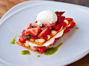 Strawberry Napoleon