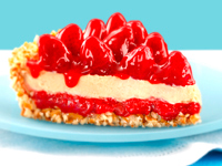 Strawberry Peanut Butter Pie