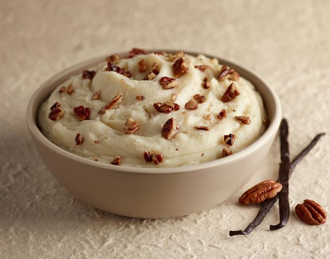 Vanilla Pecan Mashed Potatoes