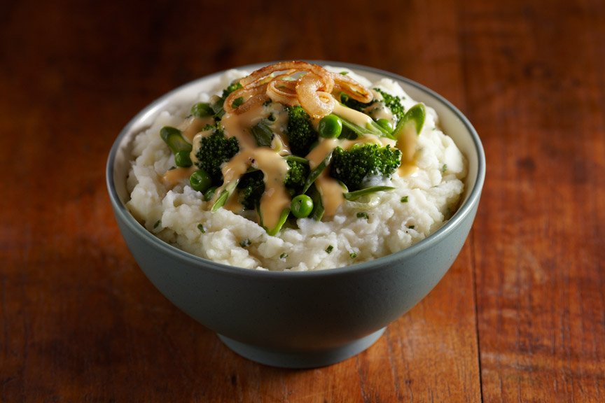 Vegetable Medley Mashed Potato Bowl