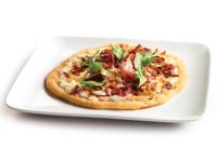 Alfredo Proscuitto Pizza