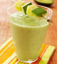 Avocado Pineapple Smoothie