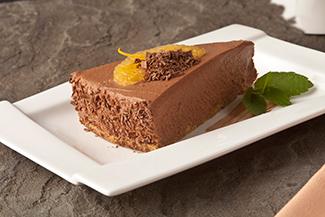 New York Chocolate-Florida Orange Cheesecake
