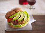 Farro Burger With Avocado