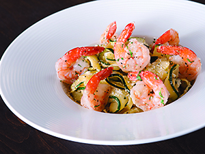 California Pizza Kitchen's Shrimp Scampi Zucchini Fettuccine