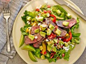 Grilled Fajita Salad