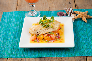 Pan-Seared Florida Grouper with Florida Citrus Salad