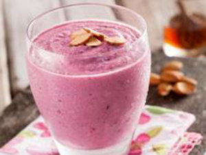 Honey, Yogurt and Cherry Smoothie