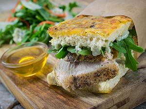 Honey Roasted Chicken Sandwich
