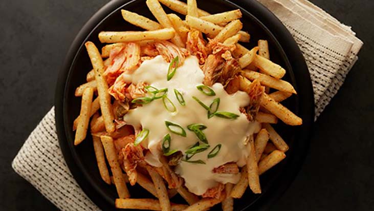 Kimcheese Fries