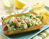 Lobster and Avocado Rolls