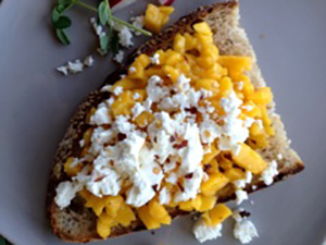 Mango Mash Country Bread