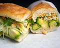Brussels Sprouts-Peanut Hoagie