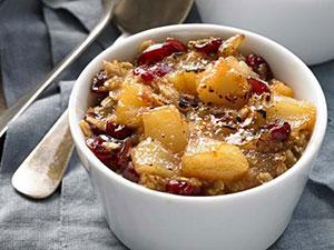 oatmeal pudding brulee