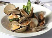 Oyster House Garlic Clams