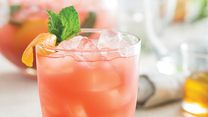 Honey Hibiscus Orange Punch