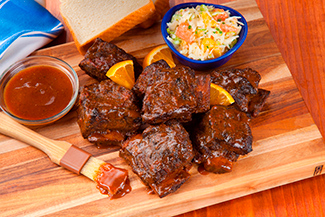 Beef Short Ribs with Florida Orange Texas-Style Barbeque Sauce