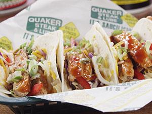 Spicy Chicken Truck Tacos
