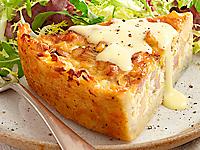 Sun Valley Breakfast Idaho Potato Quiche