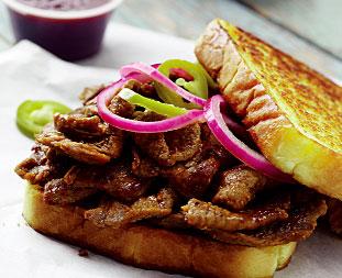 Texas BBQ Beef Sandwich