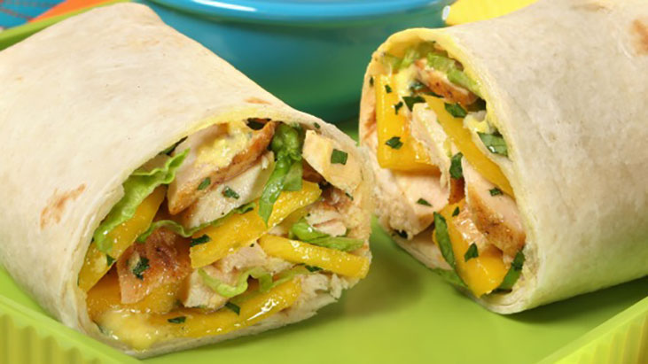 Taste of the Tropics Mango Wrap