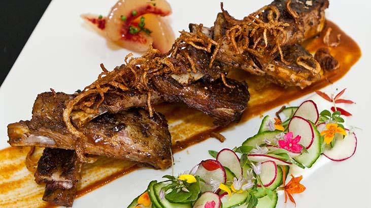 Vandouvan Spiced BBQ Lamb Riblets