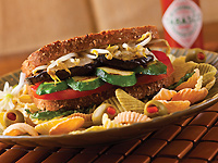 Hearty Vegetable Sandwich