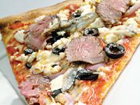 Lamb Tenderloin Pizza