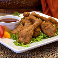 Asian Style BBQ Duck Wings