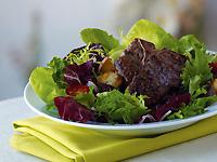 Glazed American Lamb Loin Chop Salad