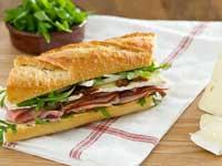 Ham, Brie & Fig Baguette Sandwich